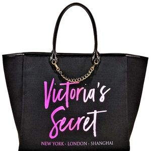 VS LARGE new YORK PINK ombre city tote bag purse